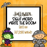 Write the Room Sight Words -Halloween Theme-