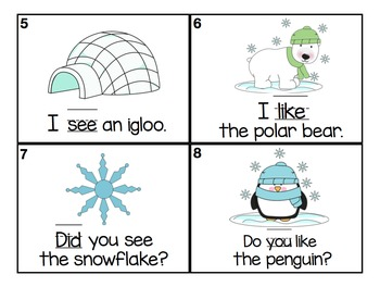 Write the Room Sight Words (January)