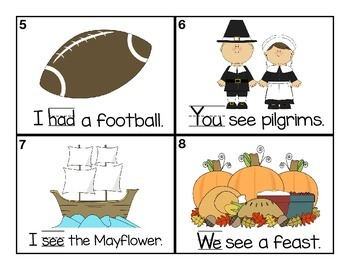 Write the Room Sight Words (October and November)