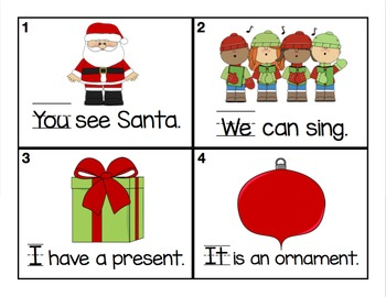 Write the Room Sight Words (December)