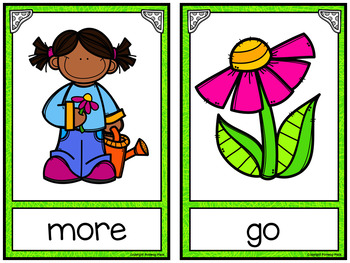 Write the Room: Sight Words - Spring {Editable}