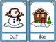 Write the Room: Sight Words - Winter Cabin {Editable}