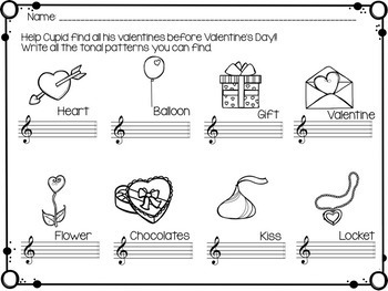 Write the Room Music: Singing Valentine {Major Edition}