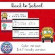 Back to School Rhythm Write the Room Six Eight Kodaly