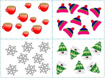 Count Around the Room: Snow 1-10