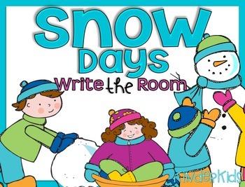 Write the Room {Snow Days}