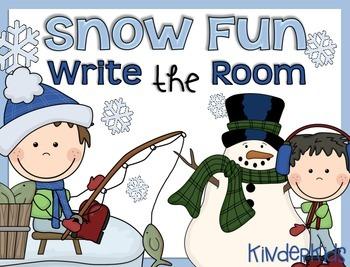 Write the Room {Snow Fun}