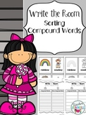 Compound Words Sort Write the Room