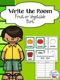 Sorting Fruits and Vegetables - Write the Room