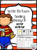 Sorting R-Controlled Vowels - Write the Room