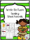 Sorting Short Vowels (6 sets) - Write the Room