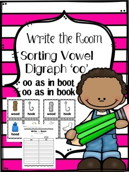 Write the Room - Sorting Vowel Digraph 'oo'
