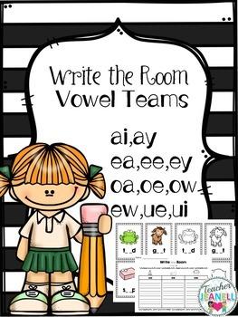 Long Vowel Sort Write the Room