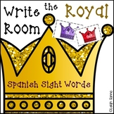 Write the Room Spanish Sight Words Center