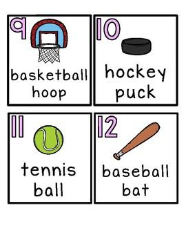 Write the Room ♥ Sports Equipment ♥ Cross Curricular ♥ Center