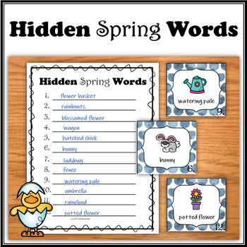 Hidden Words - Spring