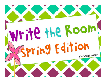 Write the Room~Spring Edition