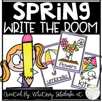 Write the Room- Spring Themed!