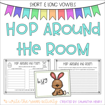 Write the Room: Spring Vowels
