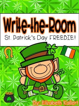 Write the Room: St. Patrick's Day FREEBIE