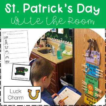 Write the Room - St. Patrick's Day Theme