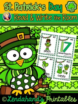 Write the Room (St. Patrick's Day Theme) by Ms. Lendahand