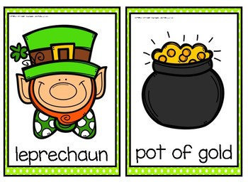 Write the Room- St. Patrick's Day Themed!