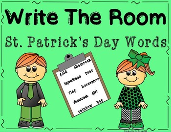 Write the Room St. Patrick's Day Words