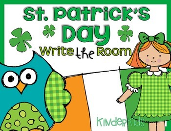 Write the Room {St. Patrick's Day}