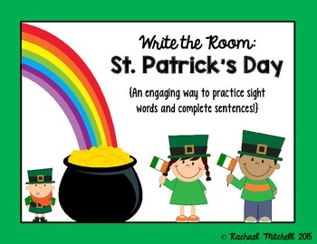 Write the Room: St. Patrick's Day