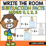 Write the Room Subtraction Facts