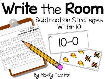 Write the Room: Subtraction Strategies