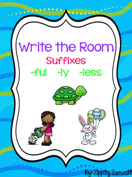 Write the Room - Suffixes