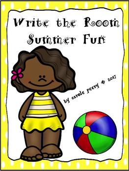 Write the Room Summer Fun