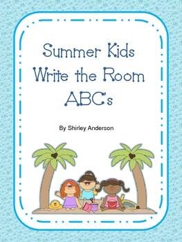 Write the Room- Summer Kids- ABC