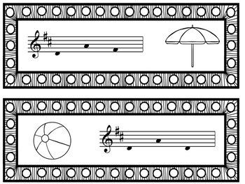Write the Room Music: Summer Singing {Major Edition}