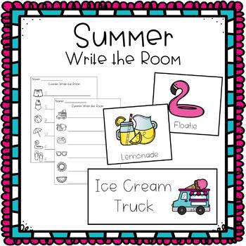 Write the Room - Summer Theme