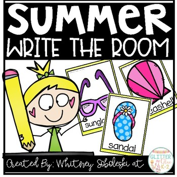 Write the Room- Summer Themed!
