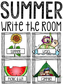 Write the Room: Summer Themes