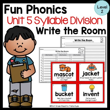 Write the Room Syllable Division Level 2 Unit 5