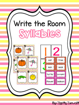 Write the Room - Syllables