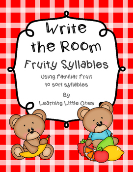 Write the Room: Syllables