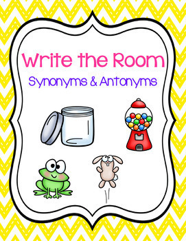 Write the Room - Synonyms & Antonyms
