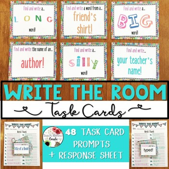 Write the Room Task Cards