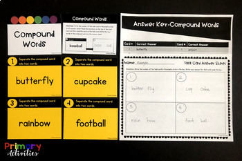 Write the Room Task Cards - First Grade Language Arts
