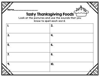 Write the Room: Tasty Thanksgiving Foods