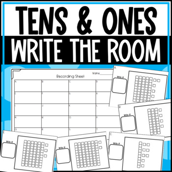 Write the Room: Tens and Ones: Place Value and Worksheets
