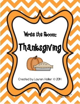 Write the Room: Thanksgiving