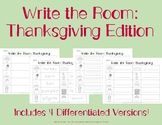 Write the Room: Thanksgiving Edition