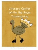 Write the Room-Thanksgiving Edition First Grade